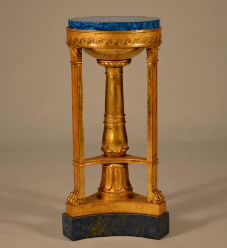 English Neoclassical Giltwood Pedestal - R14297