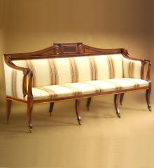 Important Boston Seymour Sofa - DH15668