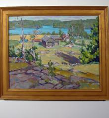 Ogunquit Maine Painting - R12397