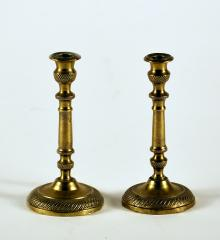Pair French Taper Candlesticks - R14206