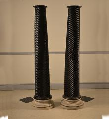 Pair of William IV Spiral Columns - R15142