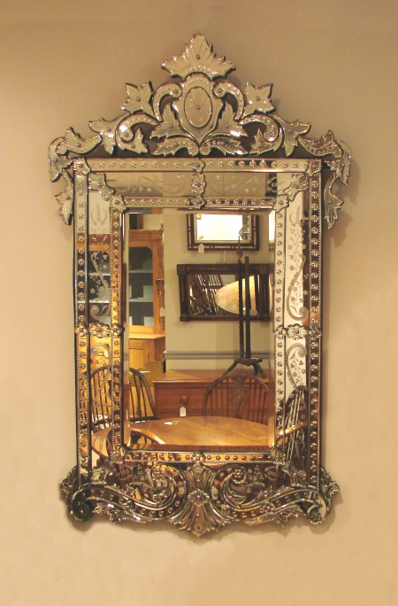 RECTANGULAR VENETIAN MIRROR R12852